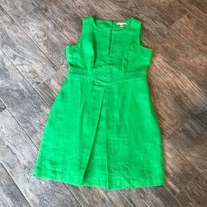 Beautiful Green sleeveless Banana Republic Dress